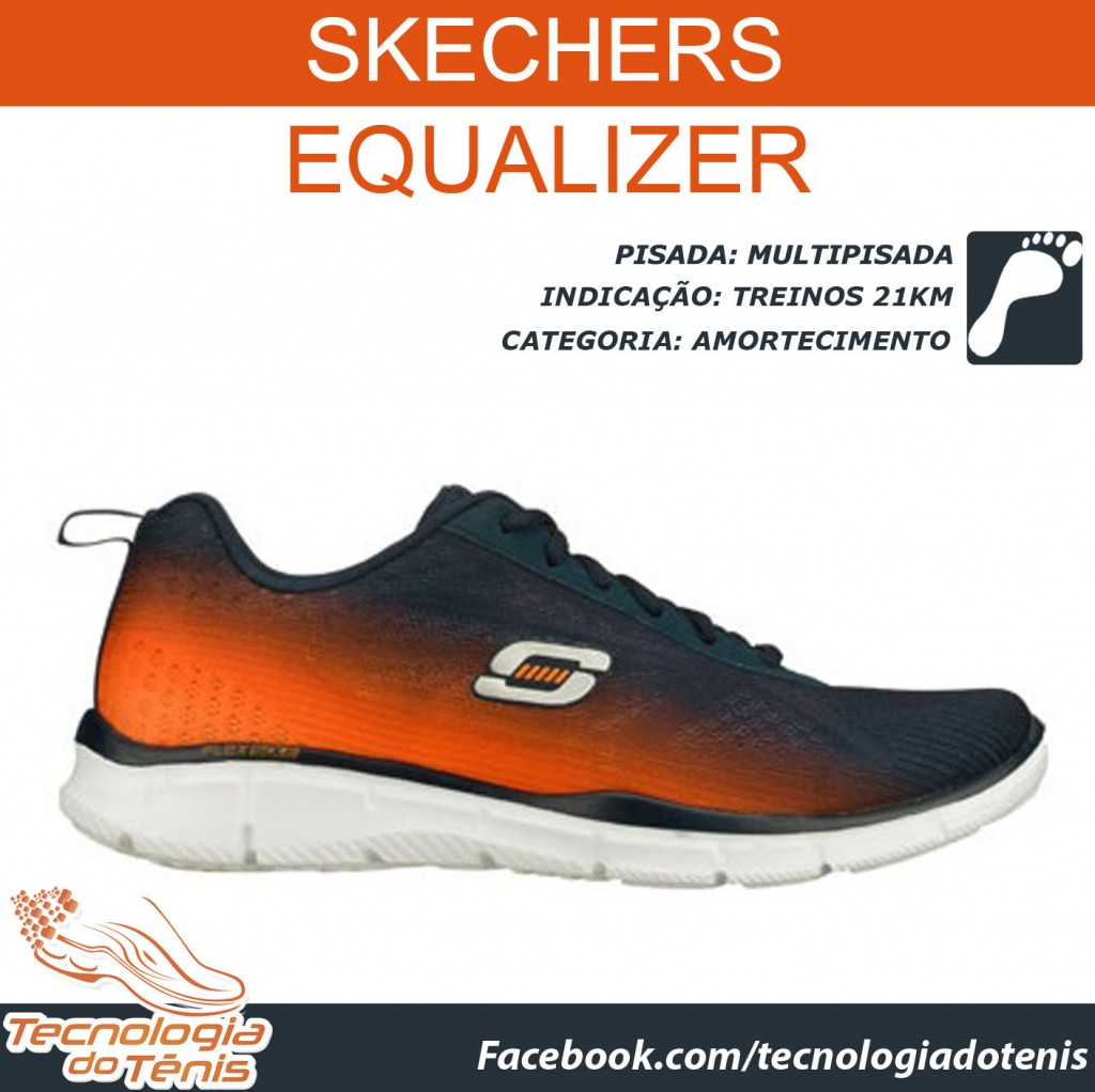 Tecnologia do Tenis - Skechers Equalizer