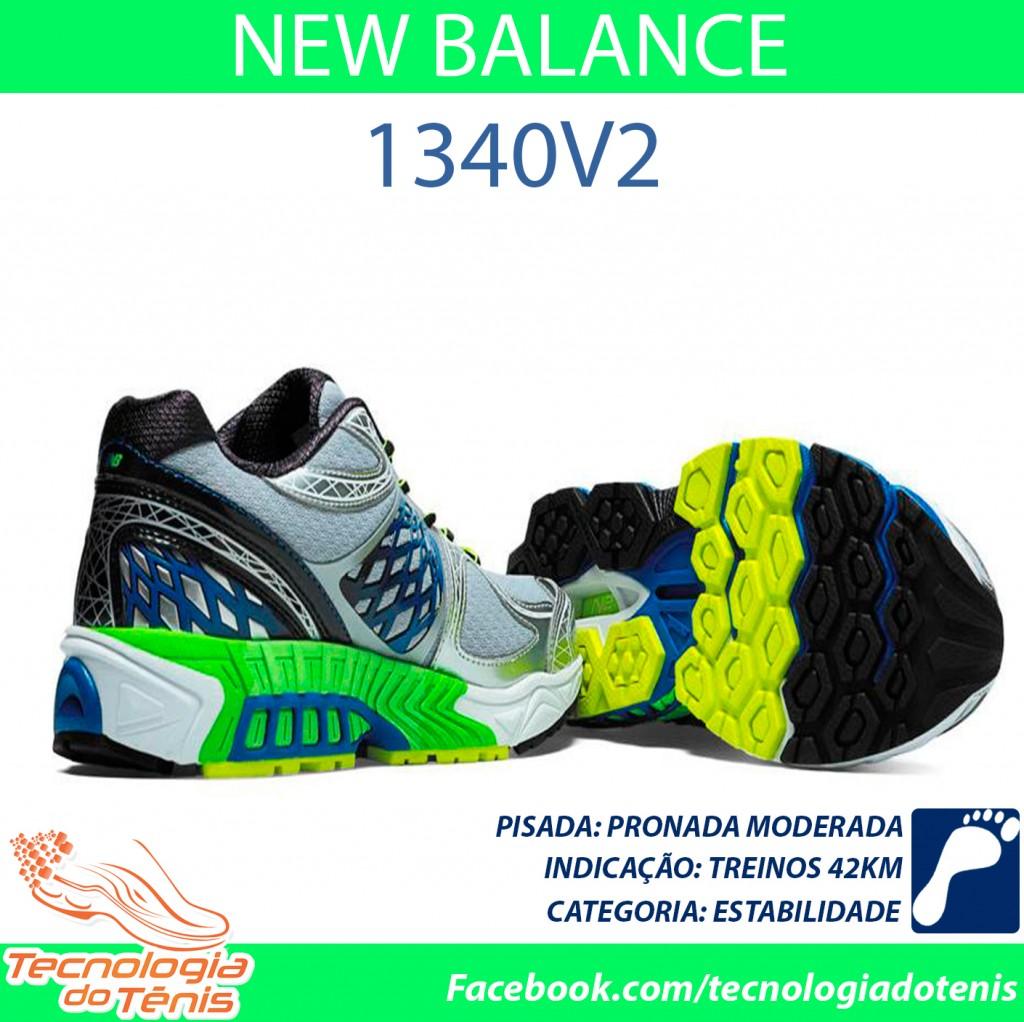 Tecnologia do Tenis - New Balance 1340 v2