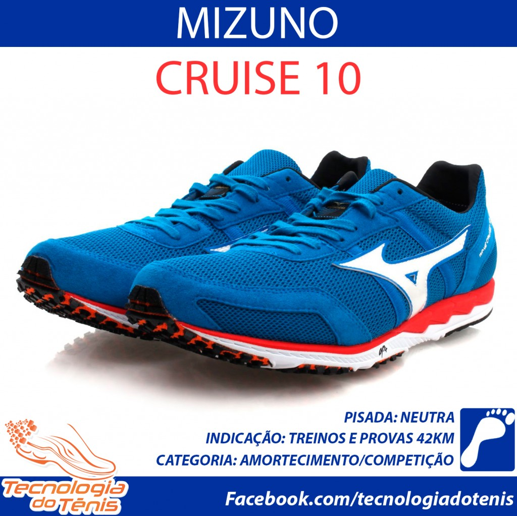 Tecnologia do Tenis - Mizuno-Cruise10