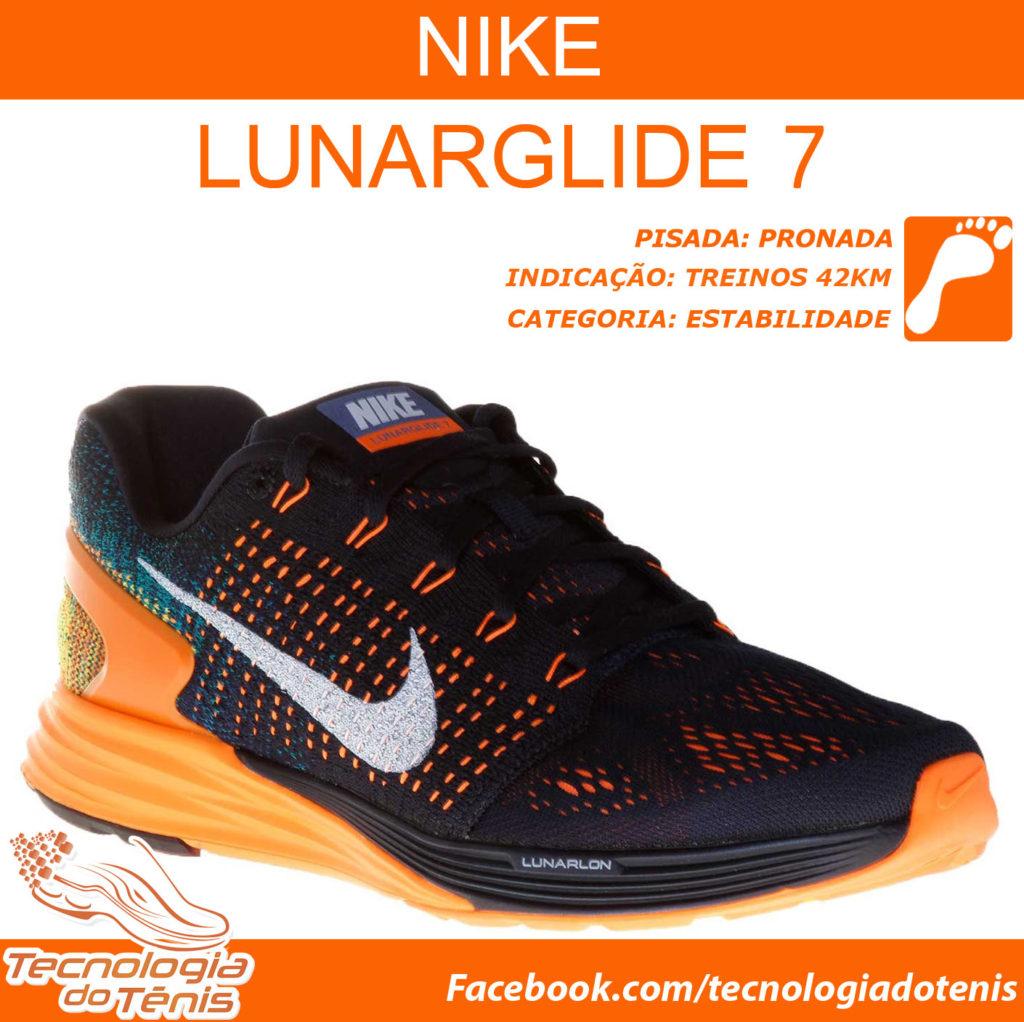 Tecnologia do Tenis - Nike LunarGlide 7