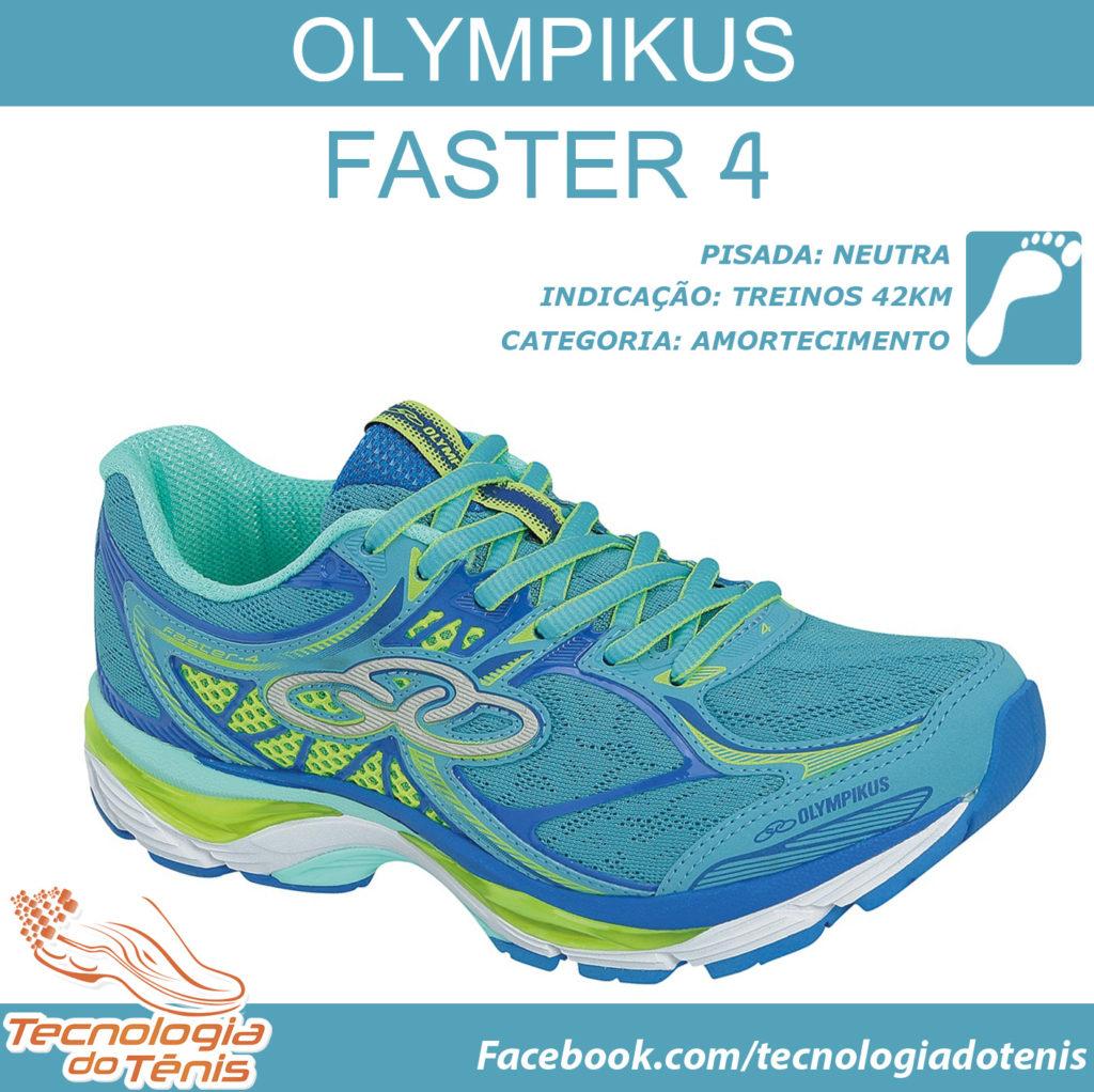 Tecnologia do Tenis - Olympikus Faster 4 - Instagram