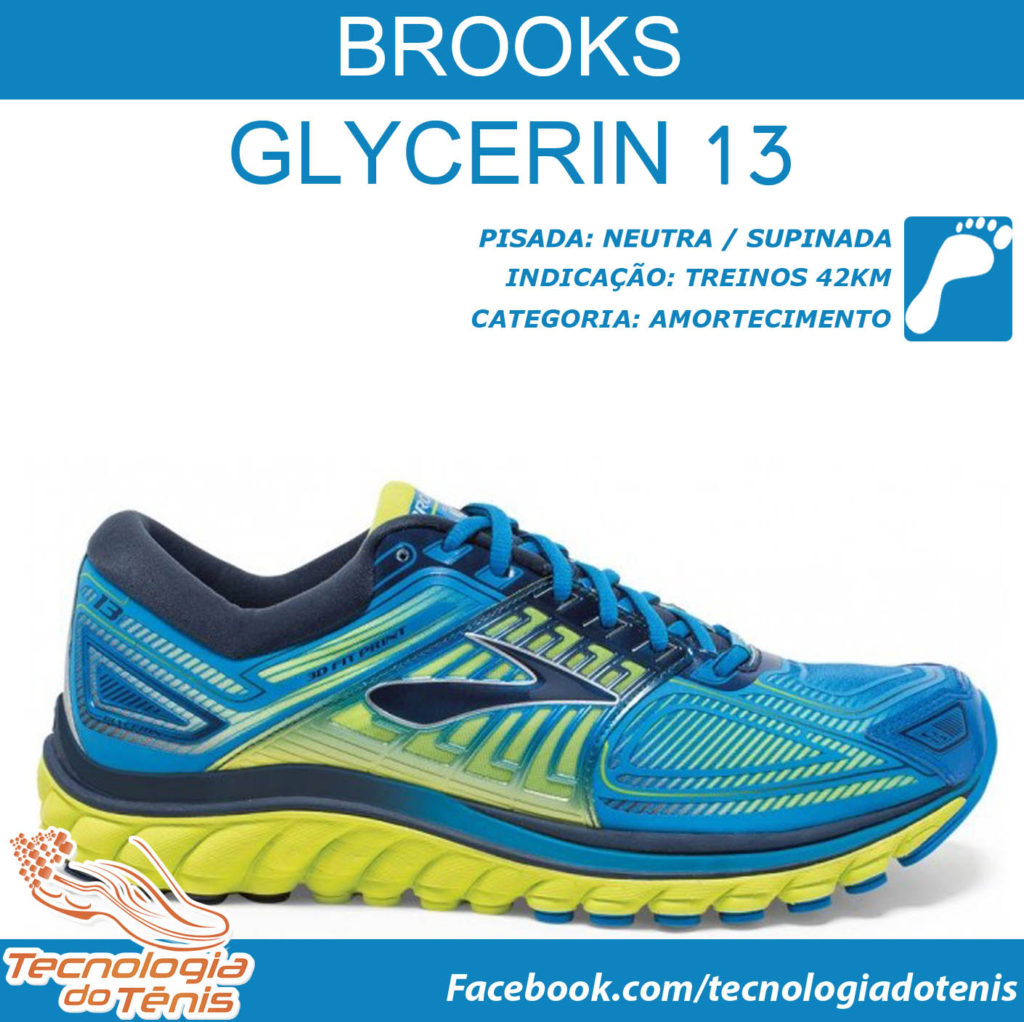 Tecnologia do Tenis - Brooks Glycerin 13