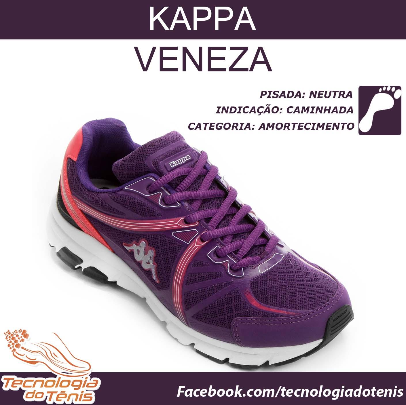 46f838ec532 Tecnologia do Tenis - Kappa Veneza-