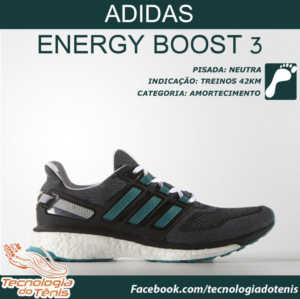 Tecnologia do Tênis - Adidas Energy Boost 3 - Instagram