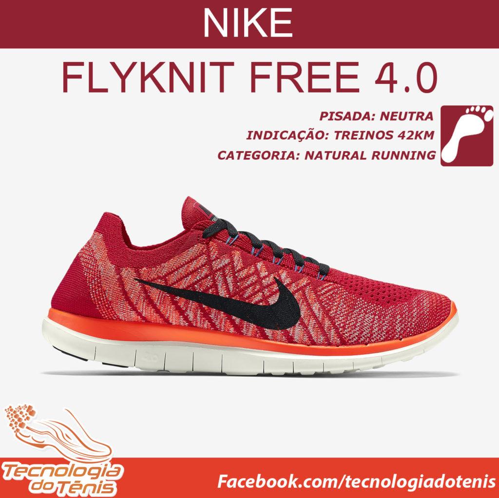 Tecnologia do Tenis - Nike Free Fliknit 4.0