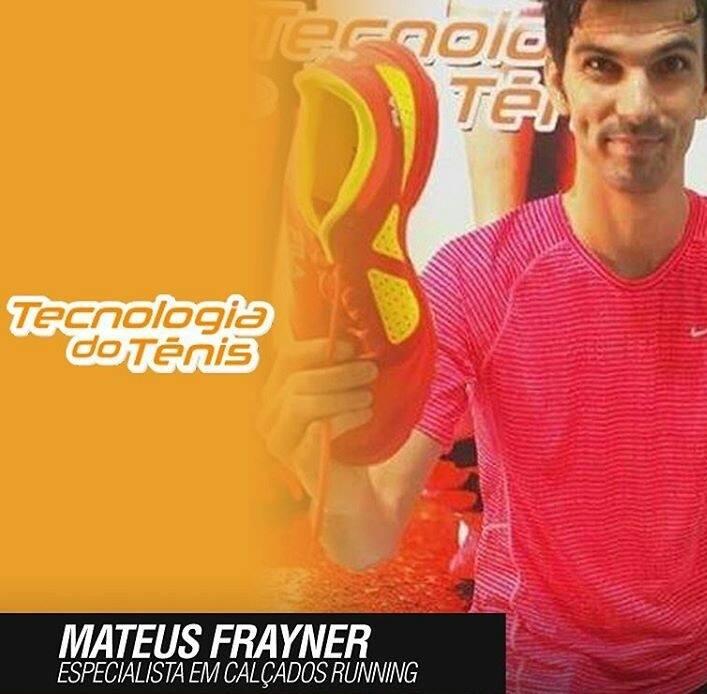 Tecnologia do Tenis - Mateus Frayner, Tenis Certo, Corrida no Ar