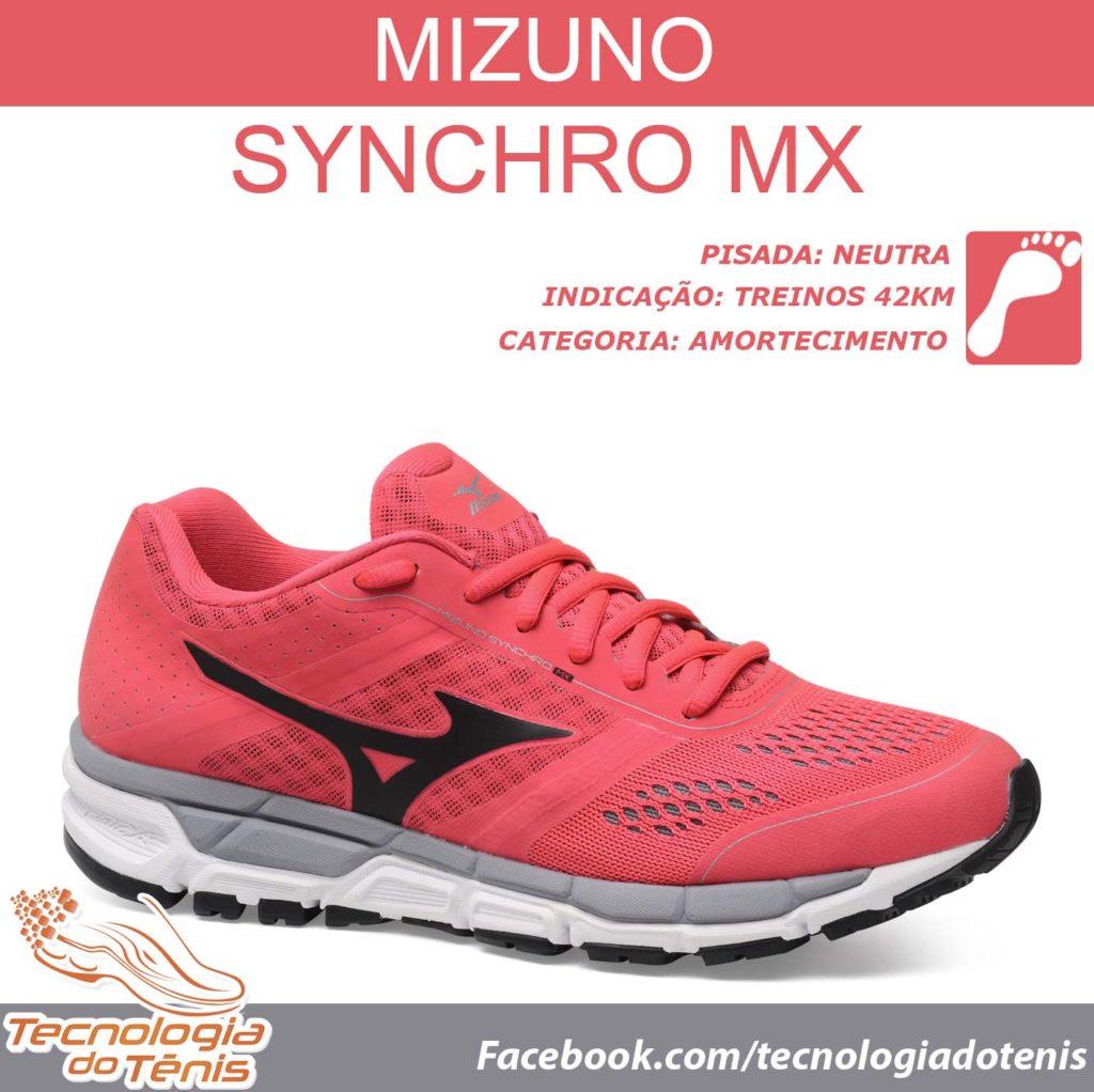 Mizuno Synchro - Tecnologia do Tenis