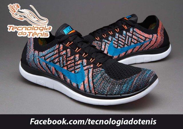 Tecnologia do Tenis - Nike Free 4.0 Flyknit