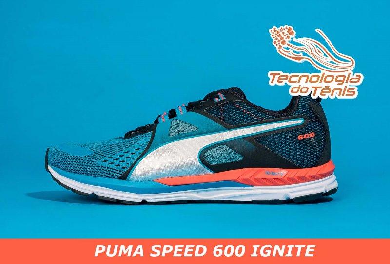 Tecnologia do Tenis - Puma S600-Capa