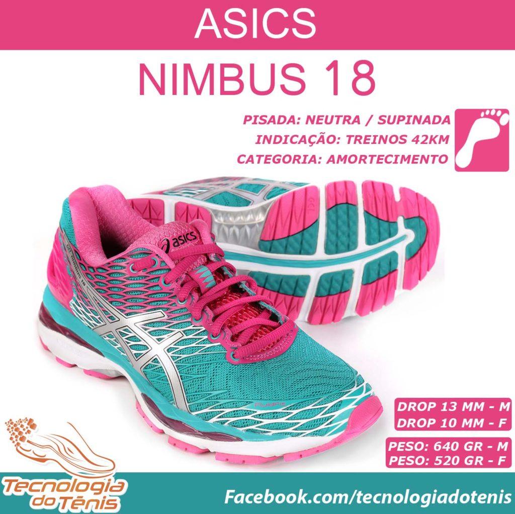 Asics Nimbus 18 - Instagram